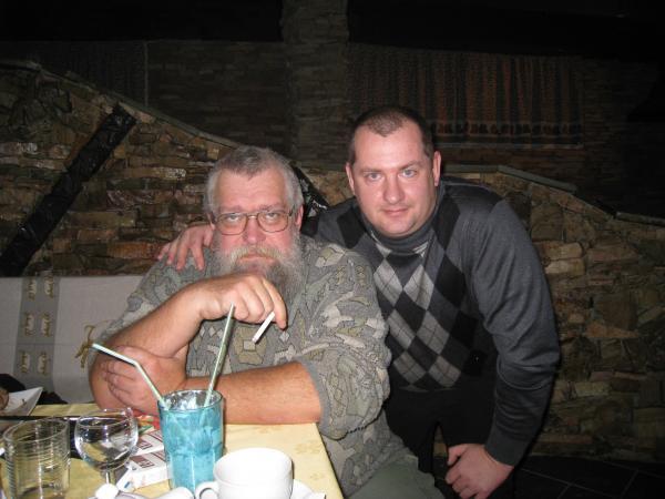 Бильярдная «День Сурка», Слава Юдаков, Костя Пахомов, 14-летие акварий, 26.11.2011