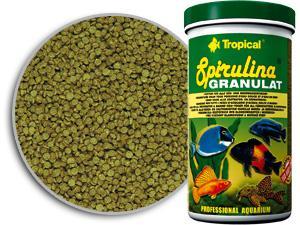 Tropical spirulina-granulat