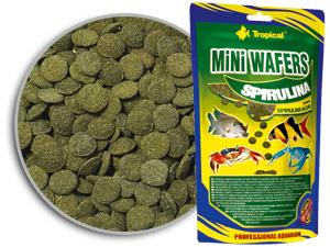 Tropical mini-wafers-spirulina
