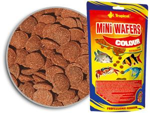 Tropical mini-wafers-colour