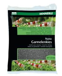 Nano Garnelenkies schwarz; Sulawesi