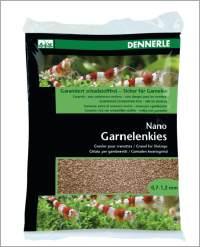 Nano Garnelenkies braun; Borneo