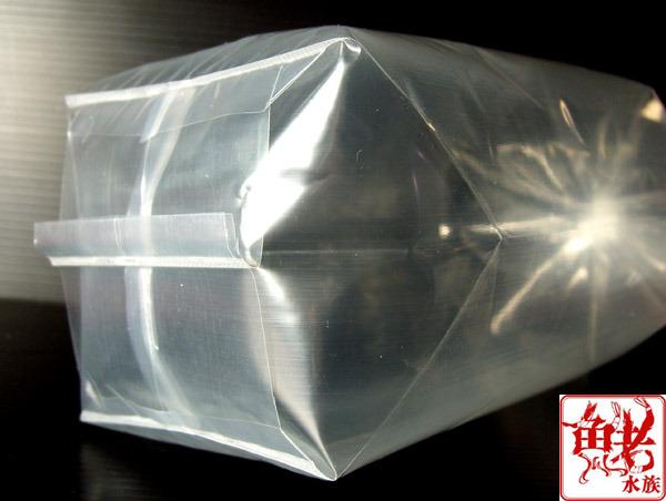 Пластиковые пакеты для безопасной транспортировки креветок