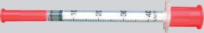 инсулиновый шприц на 40 делений