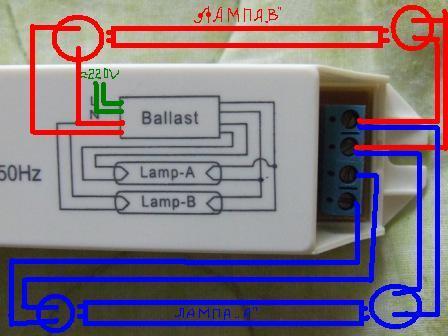 ламп может привести к