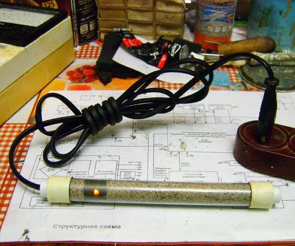 Нагреватель для аквариума из резисторов